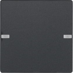 80141326 Push-button 1gang KNX - Berker Q.1/Q.3, anthracite
