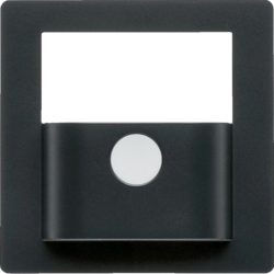 80960426 Cover for KNX motion detector module anthracite velvety,  lacquered