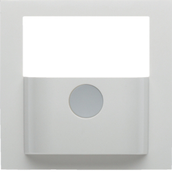 80960459 Cover for KNX motion detector module polar white glossy