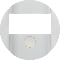80960460 Cover for KNX motion detector module KNX - Berker R.1/R.3, polar white glossy