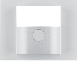80960471 Cover for KNX motion detector module aluminium,  matt,  lacquered