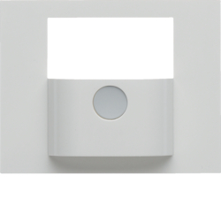 80960479 Cover for KNX motion detector module polar white glossy