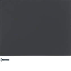 85141175 Button 1gang Berker K.1, anthracite matt,  lacquered
