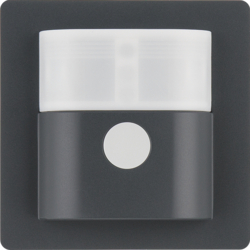 85341126 Motion detector 1.1 m anthracite velvety,  lacquered