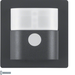 85346126 KNX radio motion detector comfort 2.2 m quicklink anthracite velvety,  lacquered