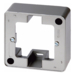 10299004 Frame 1gang surface-mounted Surface-mounted accessories,  stainless steel,  lacquered