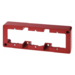 10310062 Frame 3gang surface-mounted Surface-mounted accessories,  red glossy