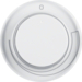 11372079 Centre plate for speed controller with setting knob,  Berker R.1/R.3, polar white glossy