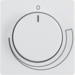 11376079 with setting knob,  Berker Q.1/Q.3, polar white velvety