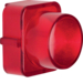 1222 Cover for push-button/pilot lamp E10 red,  transparent