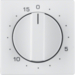 16326089 Centre plate for mechanical timer Berker Q.1/Q.3, polar white velvety