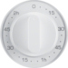 16332089 Centre plate for mechanical timer Berker R.1/R.3, polar white glossy