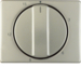 16340104 Centre plate for mechanical timer Berker Arsys,  stainless steel,  metal matt finish