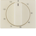 16350002 Centre plate for mechanical timer Berker Arsys,  white glossy