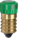 167903 LED lamp E14 Accessories,  green