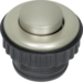 181113 Push-button,  NO contact Berker TS,  stainless steel matt,  brushed nickel