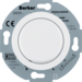 283510 Extension units insert for universal rotary dimmer with soft-lock,  Serie 1930/Glas/R.classic,  polar white glossy