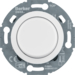294410 Universal rotary dimmer with centre plate (R,  L,  C,  LED) with soft-lock,  polar white glossy