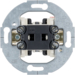 303601 Change-over switch,  round supporting ring Light control