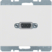 3315410069 VGA socket outlet with screw-in lift terminals,  Berker Arsys,  polar white glossy