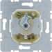 383620 Change-over switch for lock cylinders with earth contact,  Splash-protected flush-mounted IP44
