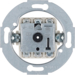 383800 Group spring-return push-button 2pole,  isolated input terminals with neutral-position,  Serie 1930/Glas/R.classic