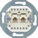 4539 FCC socket outlet,  8 /8-pole,  cat.3 Communication technology,  white