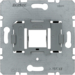 454003 Supporting plate with grey mounting device for modular jack Communication technology