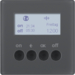 85745226 KNX radio timer quicklink with display,  Berker Q.1/Q.3, anthracite velvety,  lacquered