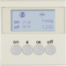 85745282 KNX radio timer quicklink with display,  Berker S.1, white glossy