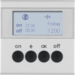 85745283 KNX radio timer quicklink with display,  Berker S.1/B.3/B.7, aluminium,  matt,  lacquered