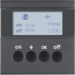 85745285 KNX radio timer quicklink with display,  Berker S.1/B.3/B.7, anthracite,  matt