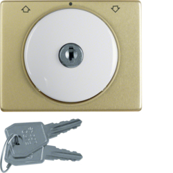 1079000100 Key can be removed in 0 position,  Berker Arsys