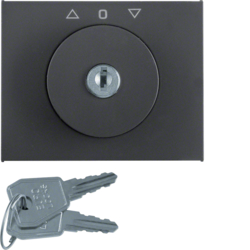 1079040200 Key can be removed in 3 positions,  Berker Arsys