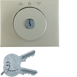 1079730400 Key can be removed in 0 position,  Berker K.5