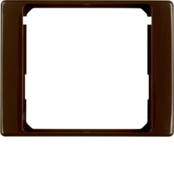 11080001 Intermediate ring for central plate Berker Arsys,  brown glossy