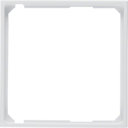 11091909 Intermediate ring for central plate polar white matt