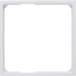 11091919 Adapter ring for centre plate 50 x 50 mm polar white matt