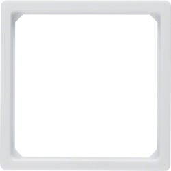 11096079 Adapter ring for centre plate 50 x 50 mm polar white velvety