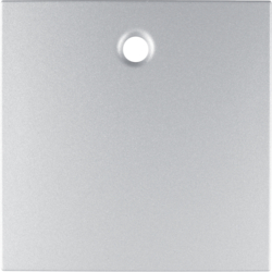 11461404 Centre plate for pullcord switch/pullcord push-button aluminium,  matt,  lacquered