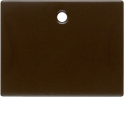 11470001 Centre plate for pullcord switch/pullcord push-button Berker Arsys,  brown glossy