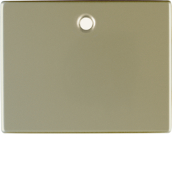 11479011 Centre plate for pullcord switch/pullcord push-button Berker Arsys,  light bronze matt,  lacquered