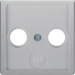 12036084 Centre plate for aerial socket 2-/3hole