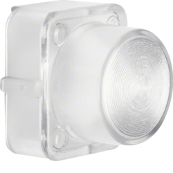 1221 Cover for push-button/pilot lamp E10 clear,  transparent