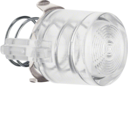 122902 Knob for push-button/pilot lamp E10 clear,  transparent