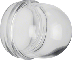 1230 Cover,  high,  for pilot lamp E14 clear,  transparent