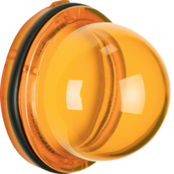 124102 Cover for pilot lamp E14 yellow,  transparent