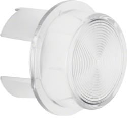 1280 Cover for push-button/pilot lamp E10 clear,  transparent