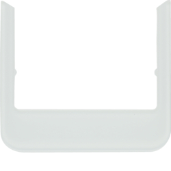 13192109 Design frame,  rounded Accessories,  Glass polar white