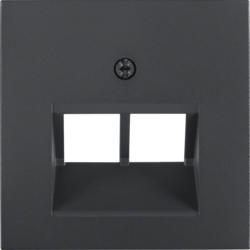 6511010004 Berker cadre 4//él/éments S1/Blanc polaire ref
